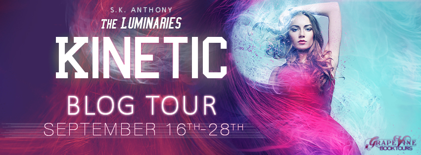 TOUR: Kinetic by S.K. Anthony + Giveaway