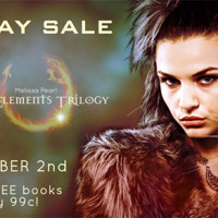 COVER REVEAL and SALE: The Elements Trilogy by Melissa Pearl