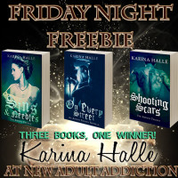 FRIDAY NIGHT FREEBIE: Karina Halle – The Artists Trilogy