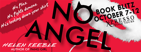 RELEASE DAY GIVEAWAY:  No Angel by Helen Keeble