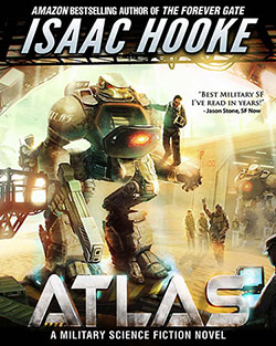 COVER REVEAL: ATLAS by Isaac Hooke