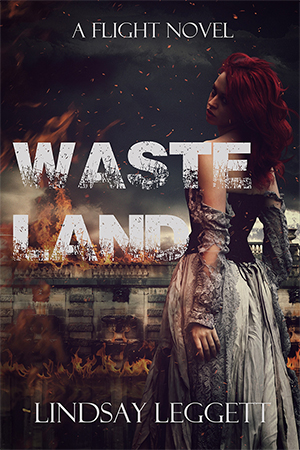 COVER REVEAL:  Wasteland by Lindsay Leggett