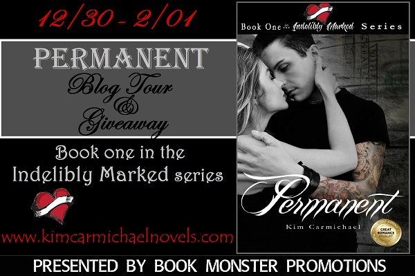 GIVEAWAY and EXCERPT: Permanent by Kim Carmichael