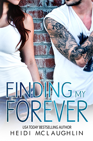 COVER REVEAL: FINDING MY FOREVER by Heidi McLaughlin