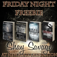 FRIDAY NIGHT FREEBIE: Evan Arden Trilogy by Shay Savage