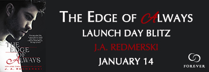 SIGNED PAPERBACKS GIVEAWAY and EXCERPT: The Edge of Always by JA Redmerski