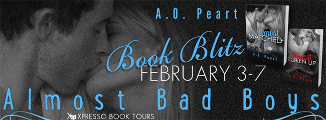 STEAMY EXCERPT:  Almost Bad Boys Series by AO Peart