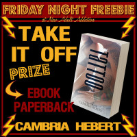 FRIDAY NIGHT FREEBIE: Tattoo by Cambria Hebert