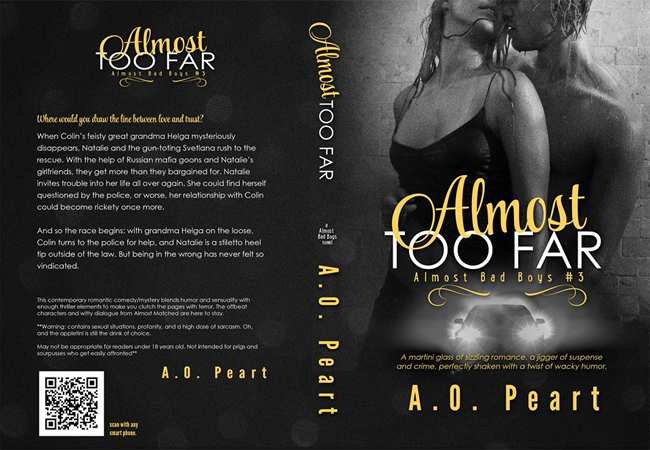 COVER REVEAL: Almost Too Far by AO Peart