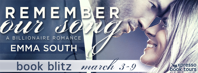 $50 GIVEAWAY and EXCERPT: Remember Our Song: A Billionaire Romance by Emma South