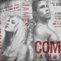 COVER REVEAL: COME by JA Huss