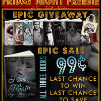 FRIDAY NIGHT FREEBIE: EPIC GIVEAWAY from JA Huss