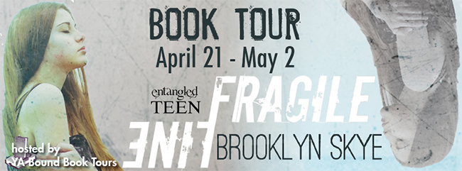 $25 GIVEAWAY and REVIEW:  Fragile Line by Brooklyn Skye