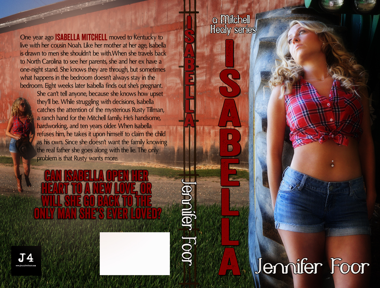 Cover Reveal: Isabella by Jennifer Foor