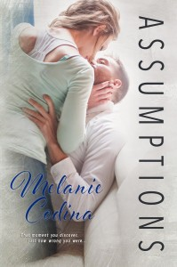 Giveaway and Cover Reveal: Assumptions by Melanie Codina