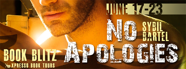 $25 GIVEAWAY and EXCERPT: No Apologies by Sybil Bartel