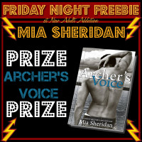 FRIDAY NIGHT FREEBIE: SIGNED copy of Archer's Voice by Mia Sheridan