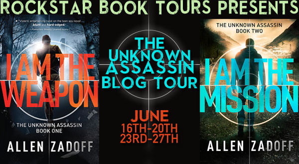 GIVEAWAY and REVIEW: The Unknown Assassin by Allen Zadoff