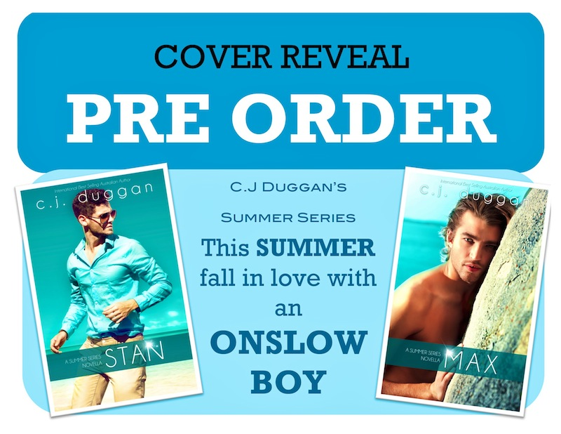 GIVEAWAY and COVER REVEALS: Stan (Summer Series #1.5) & Max (Summer Series #2.5)  by C.J. Duggan