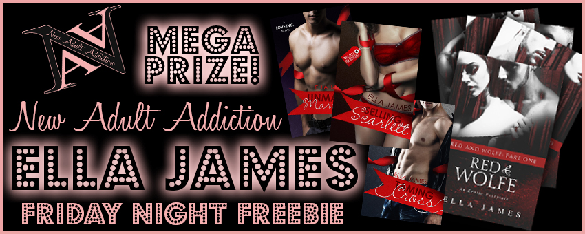 FRIDAY NIGHT FREEBIE: MEGA Prize Pack from ELLA JAMES