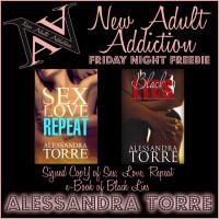 FRIDAY NIGHT FREEBIE: Sex, Love, Repeat & Black Lies by Alessandra Torre