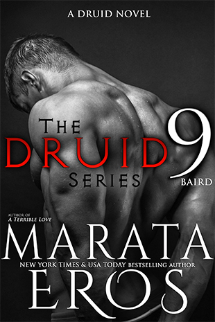 $25 GIVEAWAY and EXCERPT: The Druid Series 9: Baird by Marata Eros