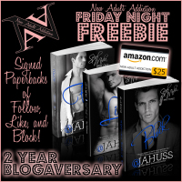 FRIDAY NIGHT FREEBIE – TWO YEAR ANNIVERSARY OF NEW ADULT ADDICTION!