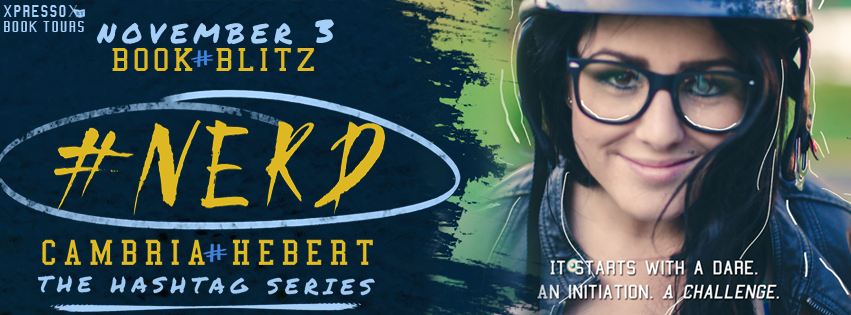GIVEAWAY and AUTHOR NARRATED EXCERPT: #Nerd by Cambria Hebert