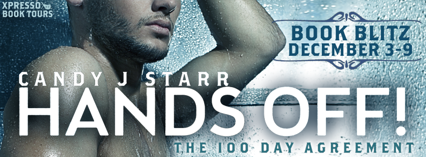 $50 GIVEAWAY and EXCERPT: Hands Off! The 100 Day Agreement by Candy J. Starr