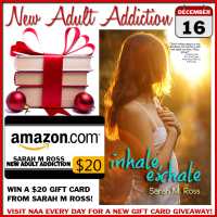 $20 GIVEAWAY and EXCERPT: Inhale Exhale by Sarah M Ross