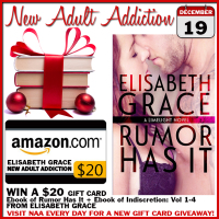 $20 GIVEAWAY and EXCERPT: Rumor Has It by Elisabeth Grace