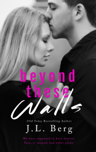 Cover Reveal: Beyond These Walls by J.L. Berg