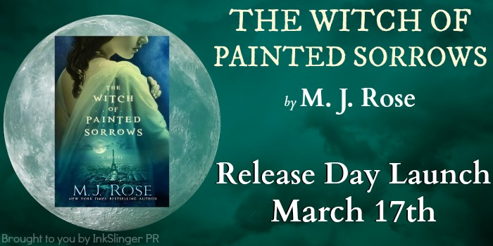 Giveaway and Release Day Excerpt! The Witch of Painted Sorrows