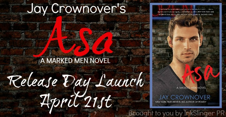 Giveaway and Happy Release Day for ASA by Jay Crownover!