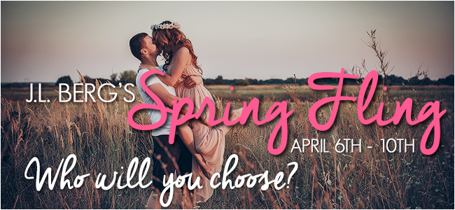 $25 Gift Card, signed book and more….J.L. Berg's Spring Fling