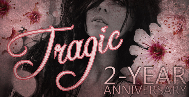 $15 GIVEAWAY WITH SIGNED BOOKS: Two-Year Book Birthday-aversary of TRAGIC by JA Huss