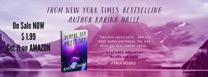 SALE ALERT! Where Sea Meets Sky by Karina Halle