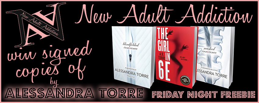 FRIDAY NIGHT FREEBIE: THREE Signed Books from Alessandra Torre
