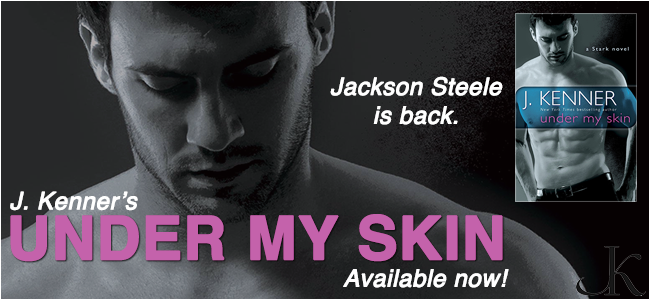 Release Day for Under My Skin by J. Kenner