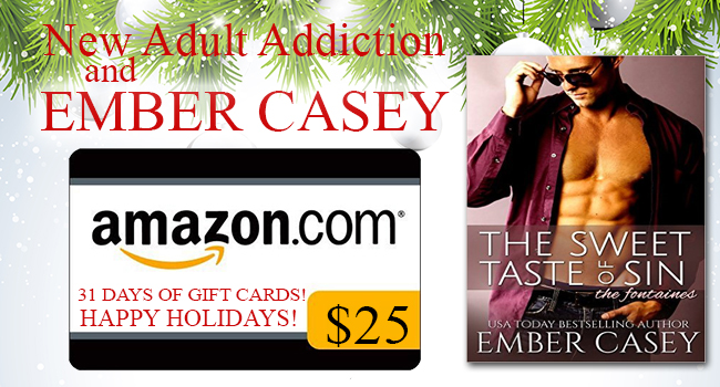 $25 GIVEAWAY-The Sweet Taste of Sin by Ember Casey