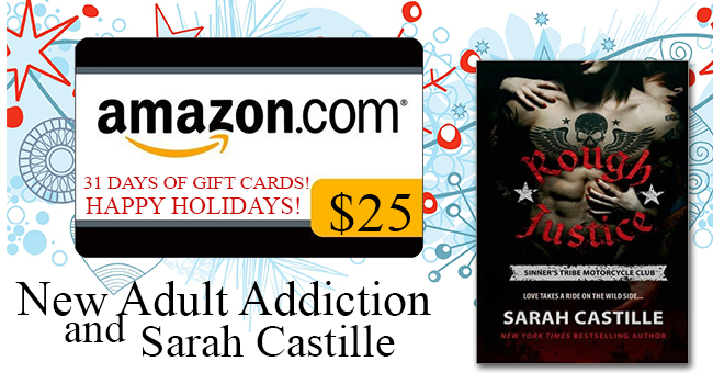$25 GIVEAWAY- Rough Justice by Sarah Castille