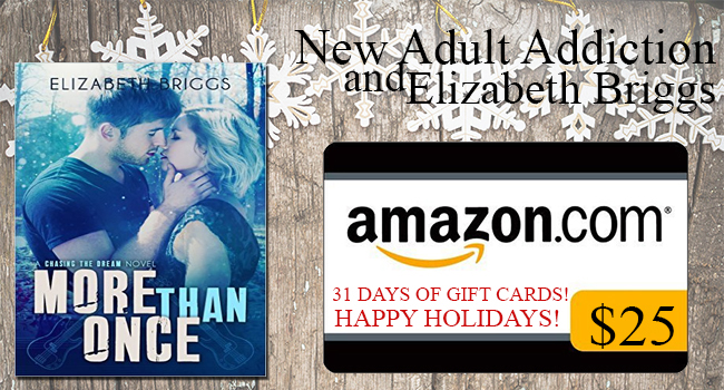 $25 & a Signed copy of More Than Once GIVEAWAY- More Than Once by Elizabeth Briggs