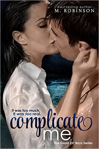 $25 GIVEAWAY- Complicate Me by M. Robinson