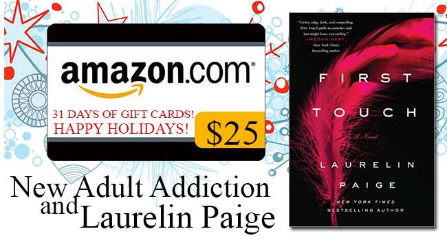 $25 GIVEAWAY-First Touch by Laurelin Paige