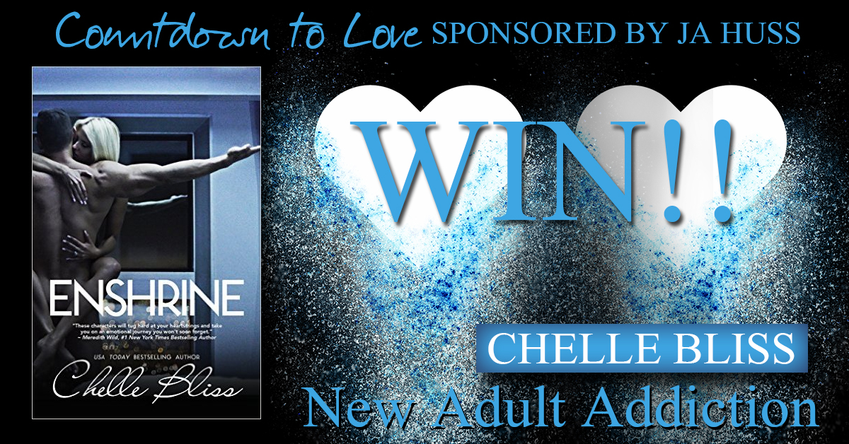 $10 GIVEAWAY and SIGNED COPY of Enshrine by Chelle Bliss