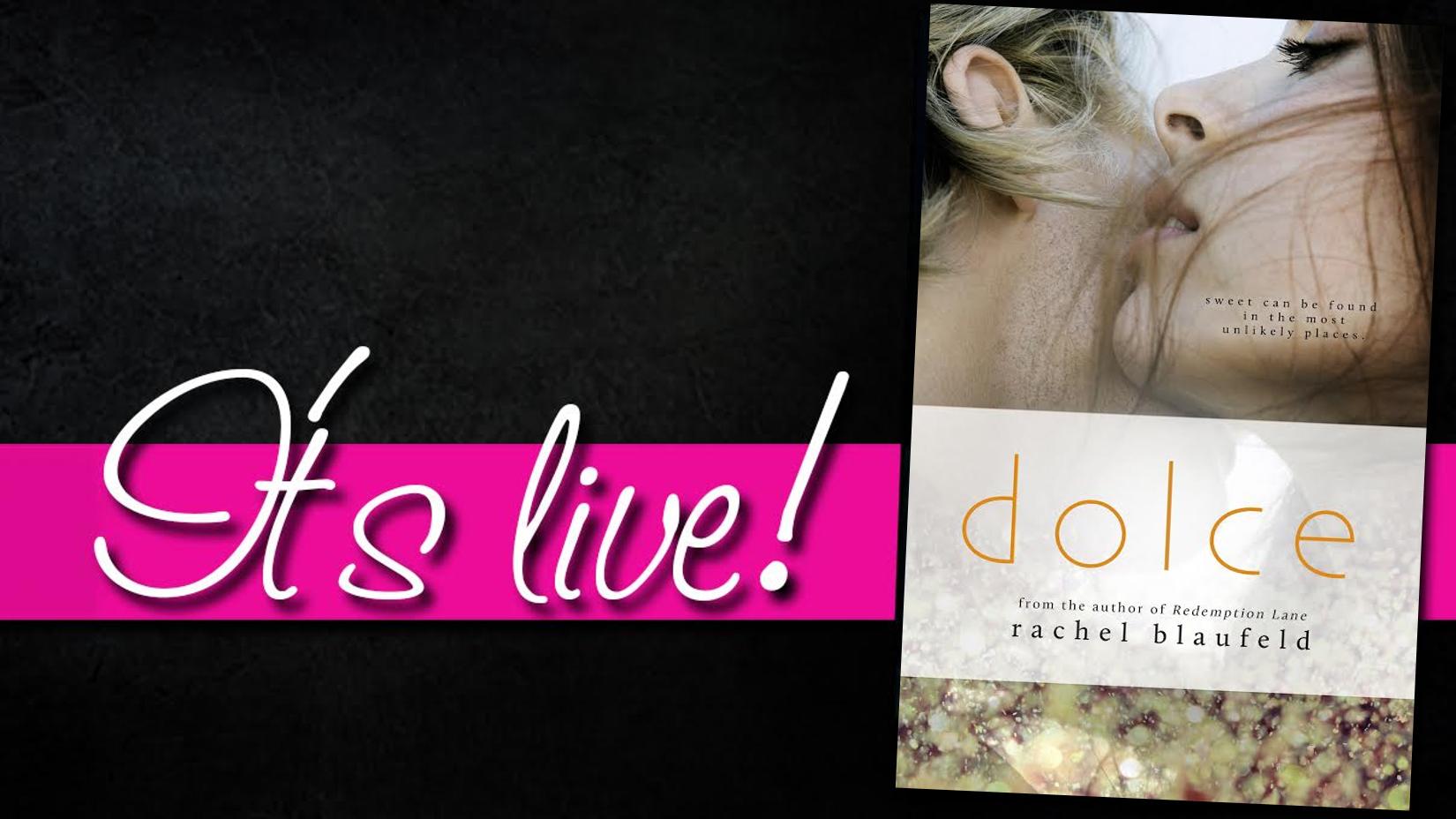 Blog Tour Excerpt: Dolce by Rachel Blaufeld