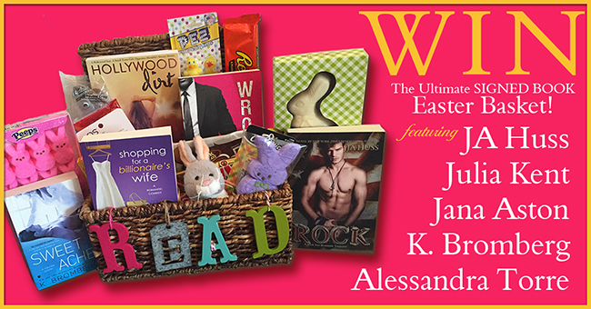 THE ULTIMATE SIGNED BOOK GIVEAWAY!