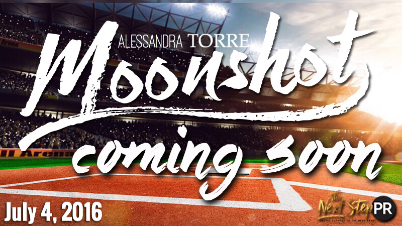 Cover Reveal for Moonshot by Alessandra Torre