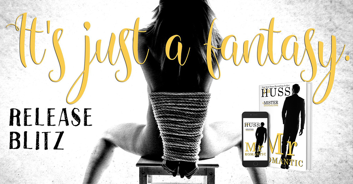 $50 GIVEAWAY Mr Romantic by JA Huss