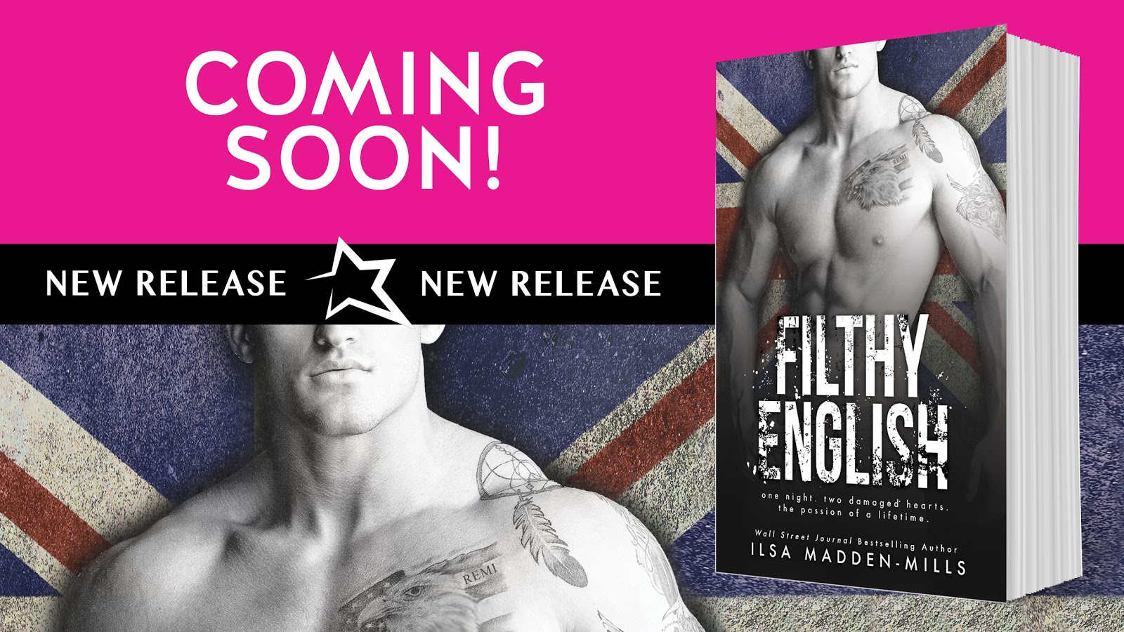 Excerpt Reveal for Filthy English by Ilsa Madden-Mills